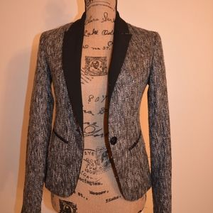 Mossimo Black and Gray Blazer